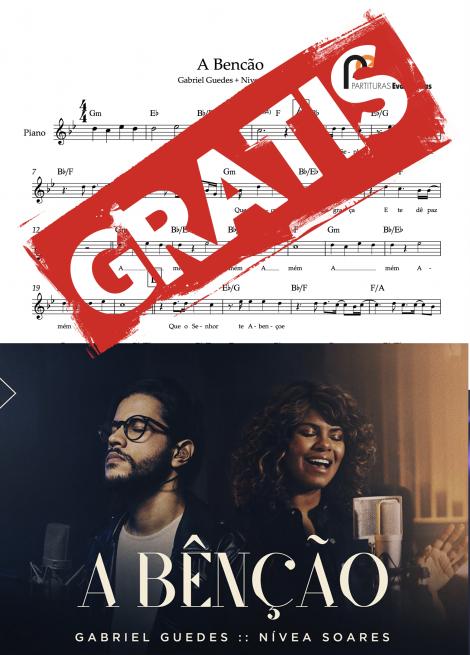 A benção Gabriel Guedes e Nívea Soares partitura1