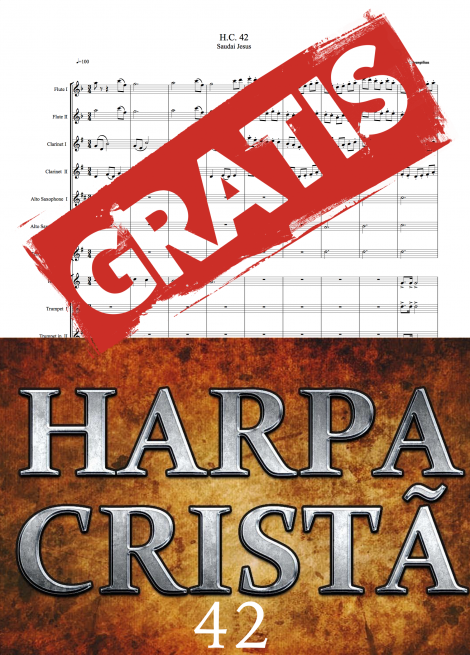 42hino 42 harpa crista saudai jesus partituras evangelicas para orquestra