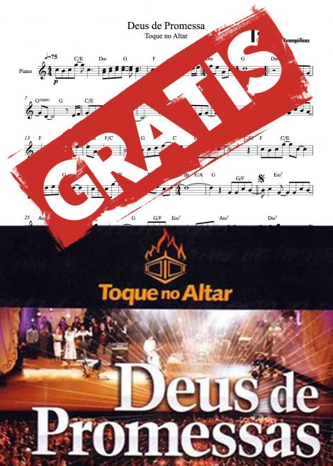 deus de promessas toque no altar partiturasevangelicas partituras gospel quarteto de cordas musica instrumental
