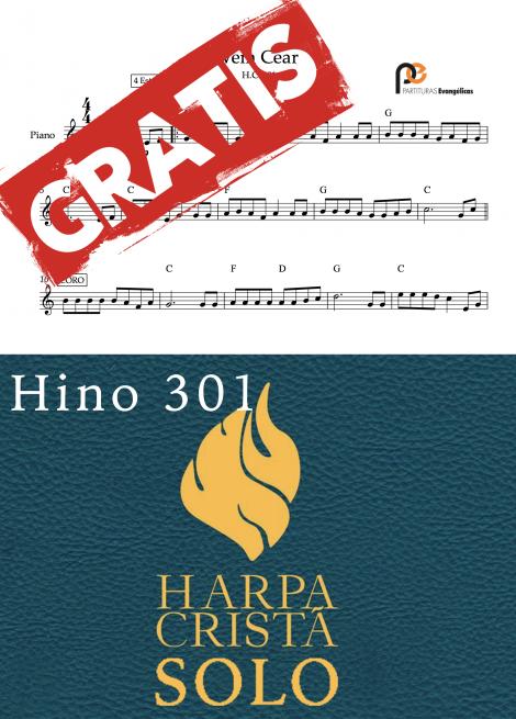 vem cear hino 301 harpa crista partituras evangelicas